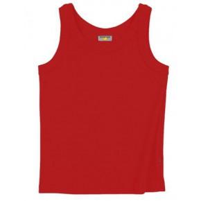 Débardeur en coton equitable rouge
