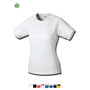T-shirt de sport en PET recyclé