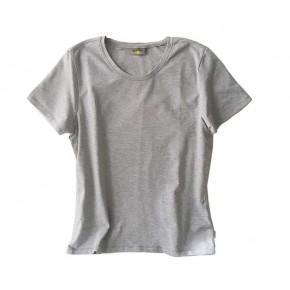 T-shirt en coton équitable femme gris