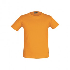 T-shirt Bio enfant orange