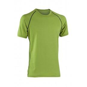 T-shirt sport laine Bio Homme vert
