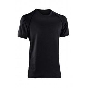 T-shirt sport laine Bio Homme noir