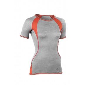 T-shirt sport laine Bio Femme gris