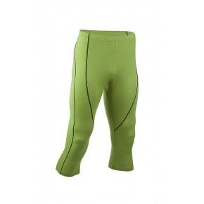 Leggings Bio laine soie Homme vert