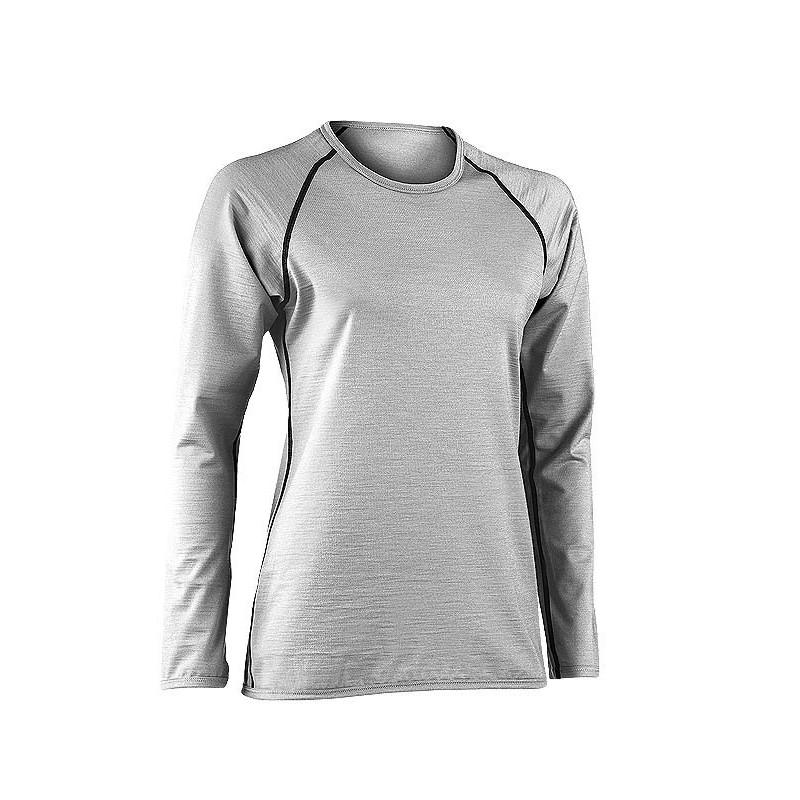 5b9414b70fc T shirt femme laine merinos sous vetements en soie pour femme