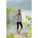 T-shirt manches longues Bio femme laine soie