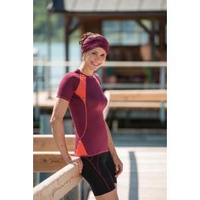 Bermuda sport Bio Femme laine merinos
