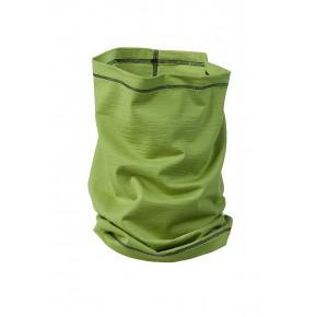 Echarpe Bio laine merinos et soie vert lime