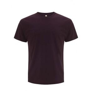 T-shirt en coton Bio unsiexe bordeaux