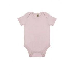 Body bébé en coton Bio rose