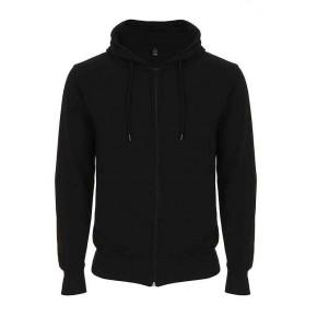 28ef530184c65 Sweat zippé à capuche en coton Bio pour homme
