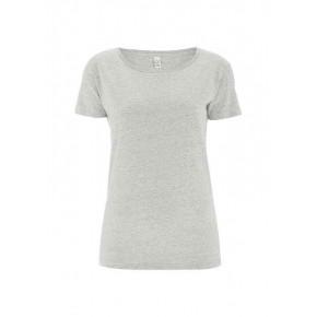 T-shirt EarthPositive Femme en coton Bio, blanc