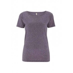T-shirt EarthPositive Femme en coton Bio, wine