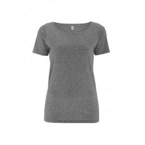 T-shirt EarthPositive Femme en coton Bio, s foncé