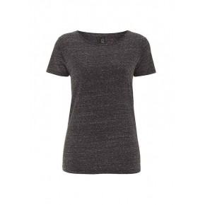 T-shirt EarthPositive Femme en coton Bio, noir