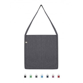 Sac shopping recyclé gris