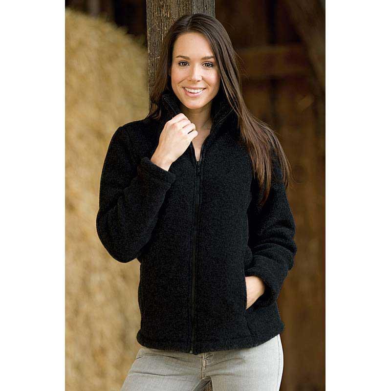 Gilet laine de mouton femme