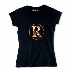 T-shirt Bio imprimé Léopard