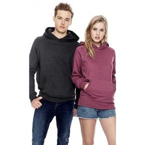 Sweatshirt à capuche en coton Bio et PET recyclés
