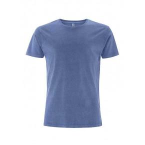 T-shirt en tencel homme bleu