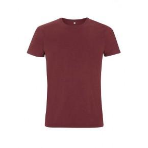 T-shirt Bio homme bordeaux burgundy
