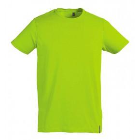 T-shirt en coton Bio vert limette