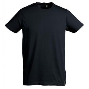 T-shirt en coton bio noir