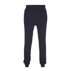 Pantalon jogging en coton Bio bleu marine