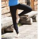Panatlon de yoga femme laine et soie noir