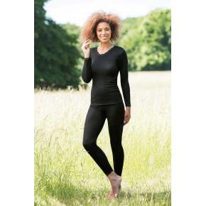 Leggings femme Bio noir