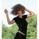 Tricot femme en laine bio et soie noir