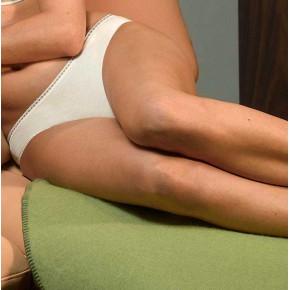 Slip femme en coton Biologique perle