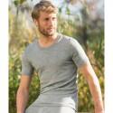 T-shirt Bio homme en laine mérinos et soie