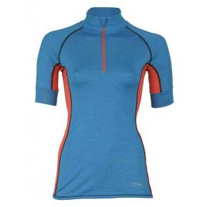 Zip-shirt de sport  femme