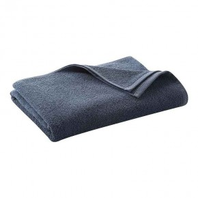 Serviette de bain en éponge de coton Bio, bleu
