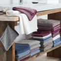 Serviette de bain en éponge de coton Bio Living Crafts