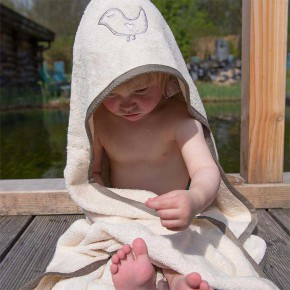 cape de bain pour bébé