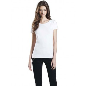t-shirt femme stretch en coton biologique EarthPositive