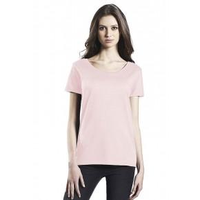 T-shirt femme coton Bio rose
