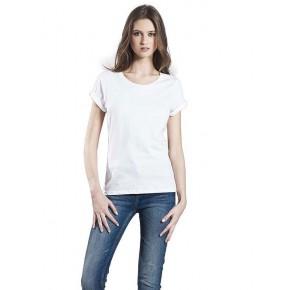T-shirt femme à manches roulées EarthPositive