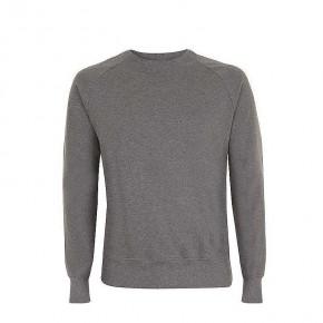 Sweat unisexe en coton Bio, dark heather, gris foncé chiné, solde