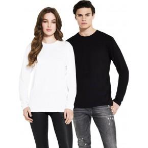 T-shirt Bio équitable à manches longues homme femme unisexe