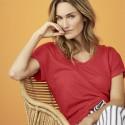 T-shirt femme en lin bio LivingCraft bio equitable