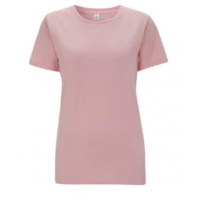 T-shirt femme en coton Bio rose, EP02