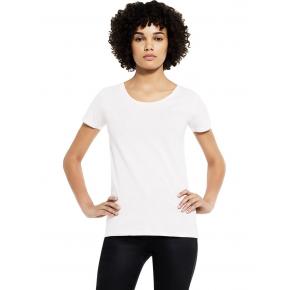 T-shirt blanc en coton Bio femme