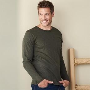 Tee-shirt manches longues en coton Bio, homme