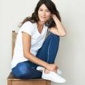 Leggings en coton Bio Living Craft bleu indigo