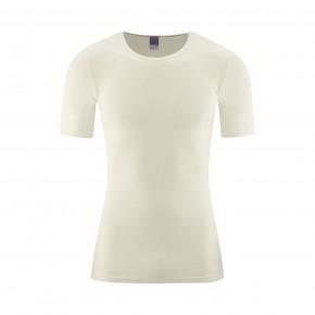 T-shirt homme 100 % coton Bio écru naturel