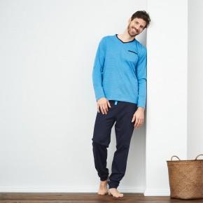 Pyjama homme 100% coton Bio équitable