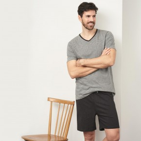 Pyjama court 100% coton biologique